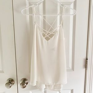 Express strappy cami size small NWT